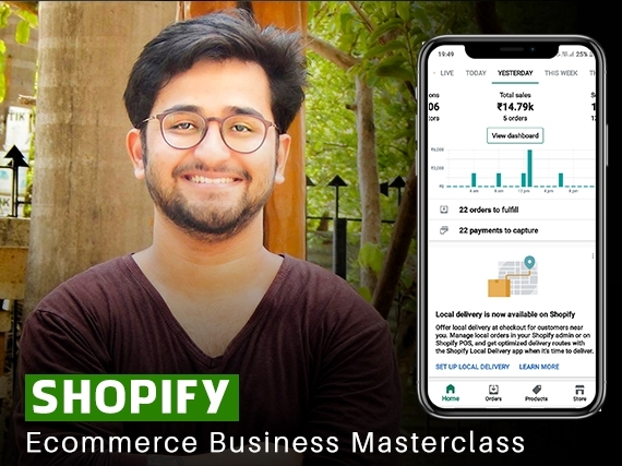 Shopify business masterclass by Vinay Hankare
